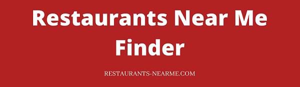 Restaurants Near Me Finder